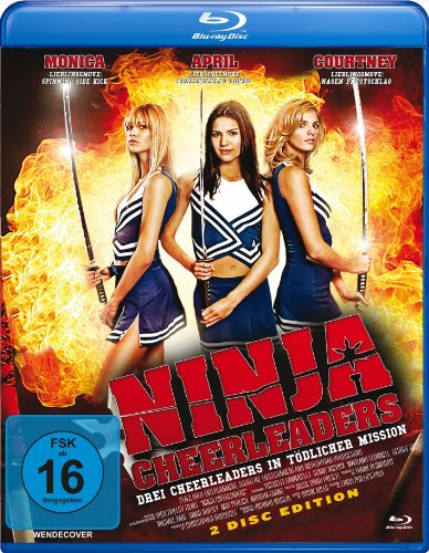 Ninja Cheerleaders (+ Copy To Go Disc) [Blu-ray]