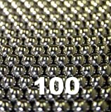 "100 1/4"" Inch Chrome Steel Bearing Balls G25"