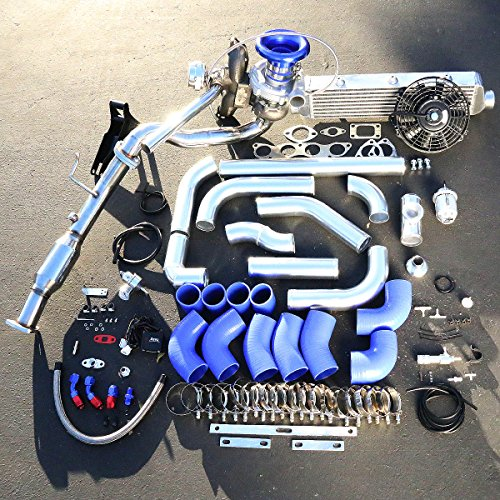 Honda Civic Si 2.0L High Performance 15pcs T04E Turbo Upgrade Installation Kit (Blow Off Valve For Honda Civic Si compare prices)