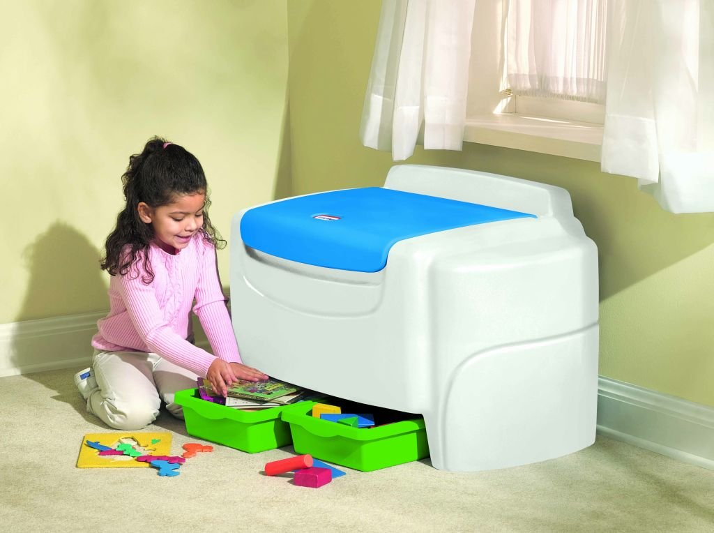 An Image of Little Tikes Bold N Bright Toy Chest