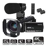Video Camera Camcorder 4K Ultra HD VideoSky YouTube Vlogging Camera 48.0MP 3.0