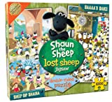 Cheatwell Games Shaun The Sheep 1000 Piece Double Sided Jigsaw (Sheep Dip Shauna, Baaa'n Dance)