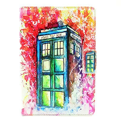 ipad mini 4 CASE Doctor Who Tardis Paint Splatter Pattern Leather Flip Stand Case Cover For ipad mini 4 4th New