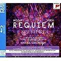 Mozart/Verdi - Requiem - Experience�(BRD audio + 2CD) [Blu-ray]