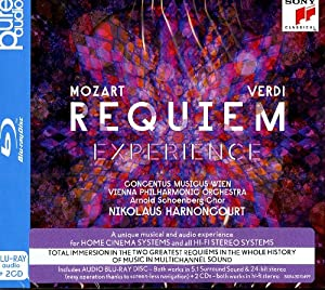 Mozart/Verdi - Requiem - Experience (BRD audio + 2CD) [Blu-ray]