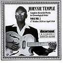 Johnnie Temple Vol. 2 1938-1940