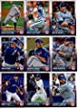 2015 Topps Baseball Cards Toronto Blue Jays Team Set (Series 1 & 2 - 25 Cards) Including Team Card, Jose Bautista, Marcus Stroman, Sergio Santos, Dalton Pompey, Brett Lawrie, Daniel Norris, Dioner Navarro, Edwin Encarnacion, Jose Reyes, Aaron Sanchez, R.A