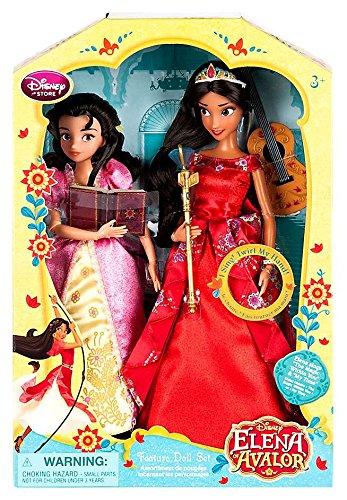 """Disney Elena of Avalor Elena & Isabel Singing 11"""" Doll 2-Pack"""