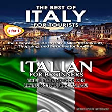 Travel Guide Box Set #6: The Best of Italy for Tourists + Italian for Beginners Audiobook by  Getaway Guides Narrated by Millian Quinteros