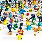 1 Complete Set Per 144pcs Pokemon Act...