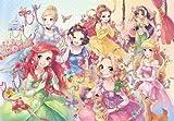 500ピース ジグソーパズル ステンドアート ディズニー ピュアリーディズニープリンセス ぎゅっとシリーズ(25x36cm)