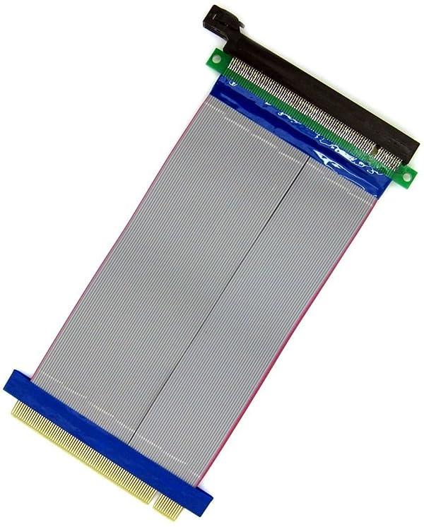 PCI-E 1X Riser Card PCI Express male to female Ribbon Extender Cable FOR 1U//2U