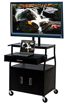 TV Cart in Black