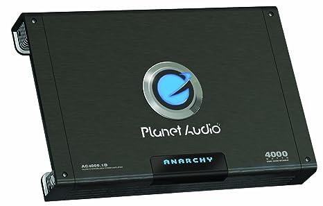 Planet Audio AC4000.1D Caisson de basses Noir