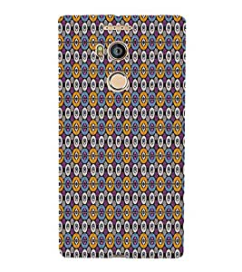 Abstract Art Cute Fashion 3D Hard Polycarbonate Designer Back Case Cover for Gionee Elife E8