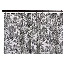 Victoria Park Toile Bathroom Shower Curtain
