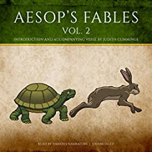 Aesop's Fables, Vol. 2 Audiobook by  Aesop, Judith Cummings - contributor Narrated by Stephen Beacham, Harvey Fierstein, Elliott Gould, Joel Grey, Kevin McCarthy, Vanessa Redgrave, Jean Stapleton
