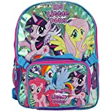 "My Little Pony ""Resplendent Wings"" Backpack with Lunchbox - purple, one size"