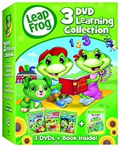 LeapFrog: 3-DVD Learning Collection