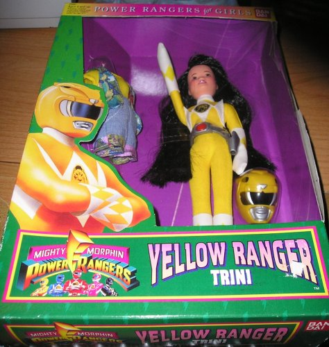 Mighty Morphin Power Rangers Yellow Range Trini 9