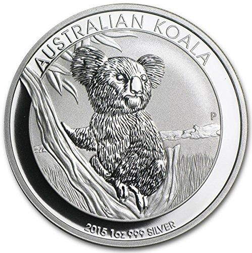 2015 Australia 1 oz Silver Koala Coin $1 Brilliant Uncirculated
