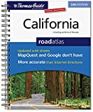 img - for California Road Atlas (Thomas Guide California Road Atlas & Driver's Guide) by Rand McNally (Editor) (1-May-2008) Spiral-bound book / textbook / text book