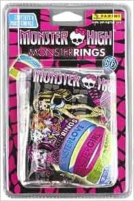 Monster High: 4 Sobres Con 2 Pulseras: Panini España S.A