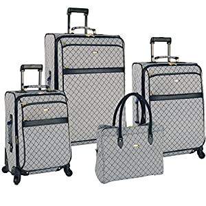 Pierre Cardin Signature Spinner Four Piece Luggage Set