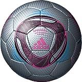 adidas(アディダス) サッカーボール スピードセル クラブプロ AF4813SLP シルバーXピンクXブラック 4号