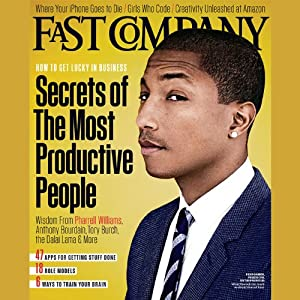 Audible Fast Company, December/January 2013 | [Fast Company]