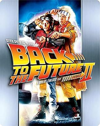 【Amazon.co.jp限定】バック・トゥ・ザ・フューチャー PART2 30thアニバーサリー・スチールブック・ブルーレイ [Blu-ray]