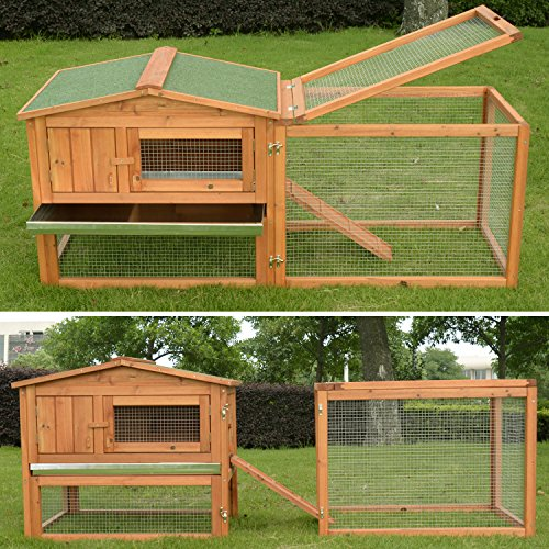 Pawhut-62-Outdoor-Guinea-Pig-Pet-HouseRabbit-Hutch-Habitat-with-Run