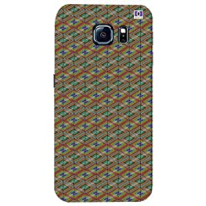 Yellow Design - Mobile Back Case Cover For Samsung Galaxy S6 Edge Plus