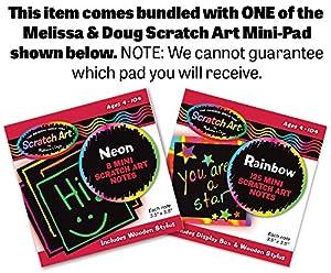 Discovery Magic Set + FREE Melissa & Doug Scratch Art Mini-Pad Bundle