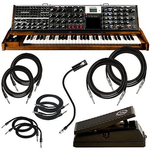 Moog Minimoog Voyager XL Synth PAK w/ Lamp, Expression Pedal