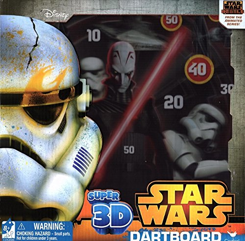 Star Wars Super 3D Dartboard