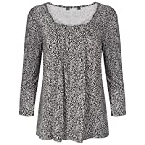 Ladies Leapord Print Long Sleeve Top (22)
