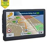 GPS Navigation for Car, 7 inches 8GB Lifetime Map Update Spoken Turn-to-Turn Navigation System for Cars, Vehicle GPS Navigator Lifetime Maps Update (Color: Model C)