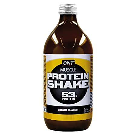 QNT Muscle Protein Shake 12x500ml; Banane