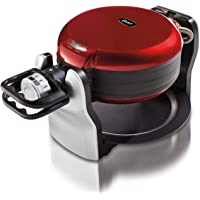 Oster Double Flip Waffle Maker (Red)