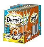 Dreamies Katzensnack Extra Crunch mit Lachs, 6er Pack (6 x 60 g) -