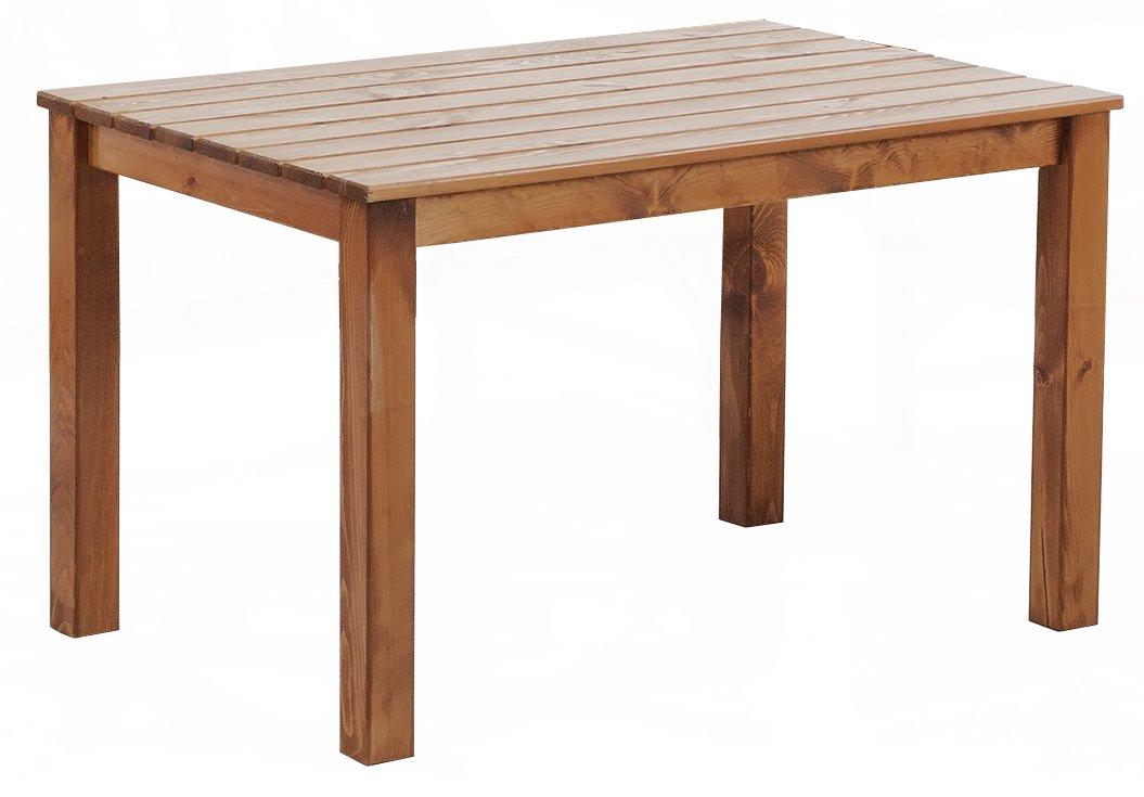 Ambientehome Tisch OSLO, 116 x 77 x 70 cm, braun