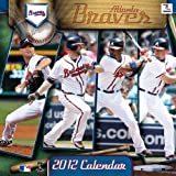 2012 ATLANTA BRAVES 12X12 WALL CALENDAR Perfect Timing - Turner