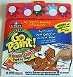Elmer's Mess Free Go Paint! Finger Paints - Paint by shape kit!