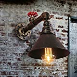Fuloon ブラケットライト 工業風 水道管 レトロ 照明器具 アンティーク調 壁掛け照明器具