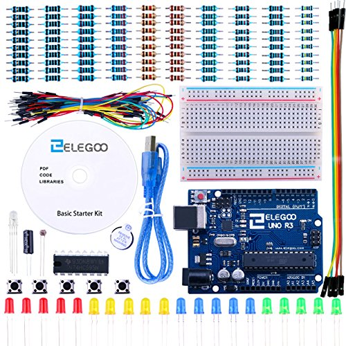 Elegoo-UNO-Project-Basic-Starter-Kit-with-Tutorial-and-UNO-R3-for-Arduino