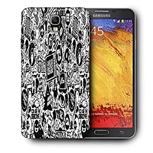 Snoogg Television Printed Protective Phone Back Case Cover For Samsung Galaxy NOTE 3 NEO / Note III