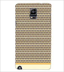 PrintDhaba Pattern D-1993 Back Case Cover for SAMSUNG GALAXY NOTE 3 (Multi-Coloured)