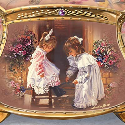 Sandra Kuck My Sister, My Friend Collectible Music Box by Ardleigh Elliott by Ardleigh Elliott