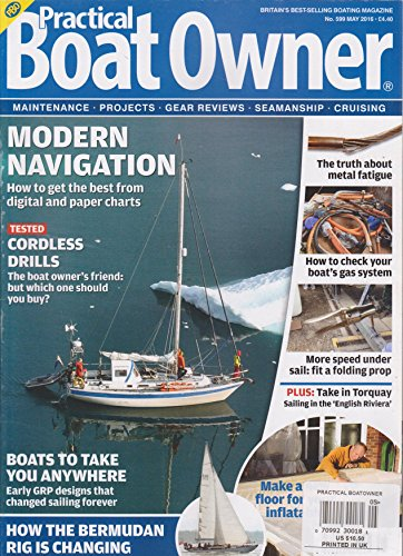 Practical Boat Owner Magazine May 2016 (Practical Boat Owner compare prices)